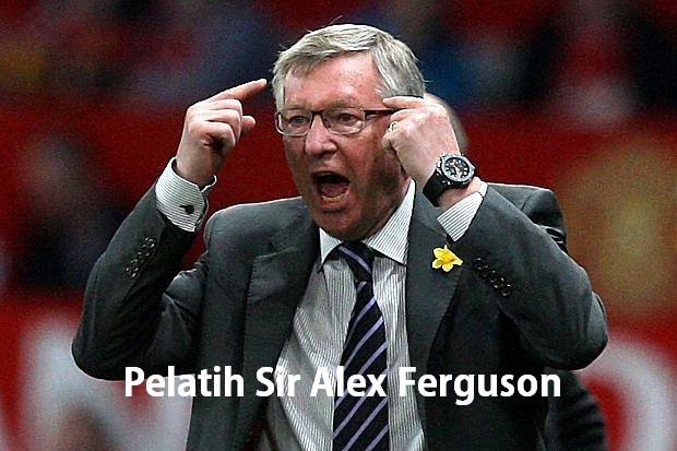 Pelatih Sir Alex Ferguson